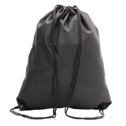 PROMO drawstring backpack,  black