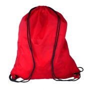 PROMO drawstring backpack,  red