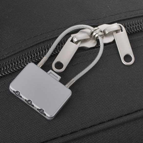 PADLOCK luggage lock,  silver