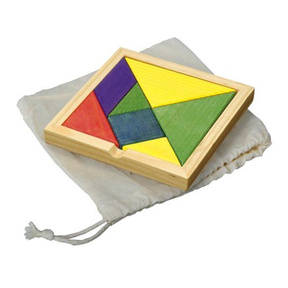 TANGRAM puzzle,  multicolor