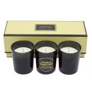 SCENTED SET set of perfumed candles,  beige