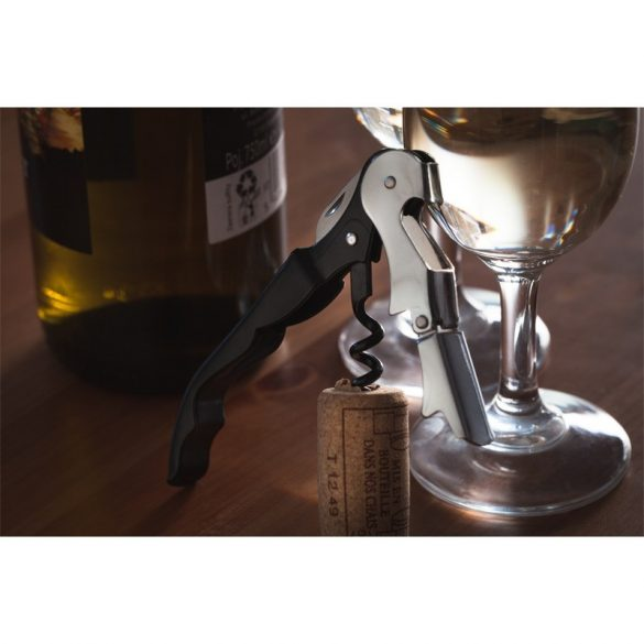 EFFECTIVE wine corkscrew,  black