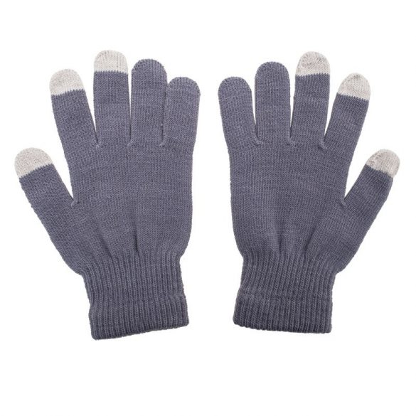 TOUCH CONTROL gloves for touch screen,  grey