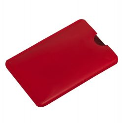 RFID SHIELD case with RFID protection,  red
