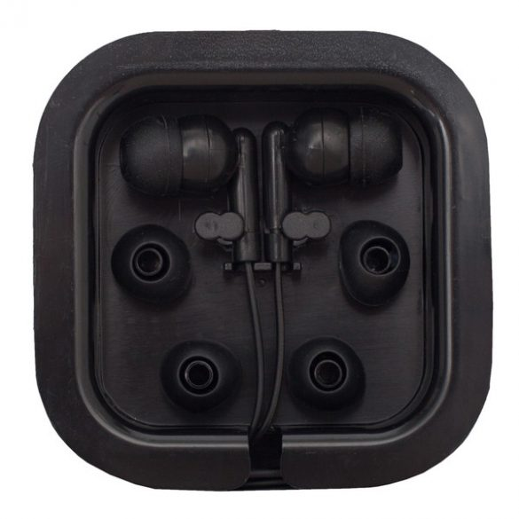 CLEAR SOUND headphones,  black