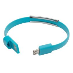 BRACELET bracelet with USB,  light blue