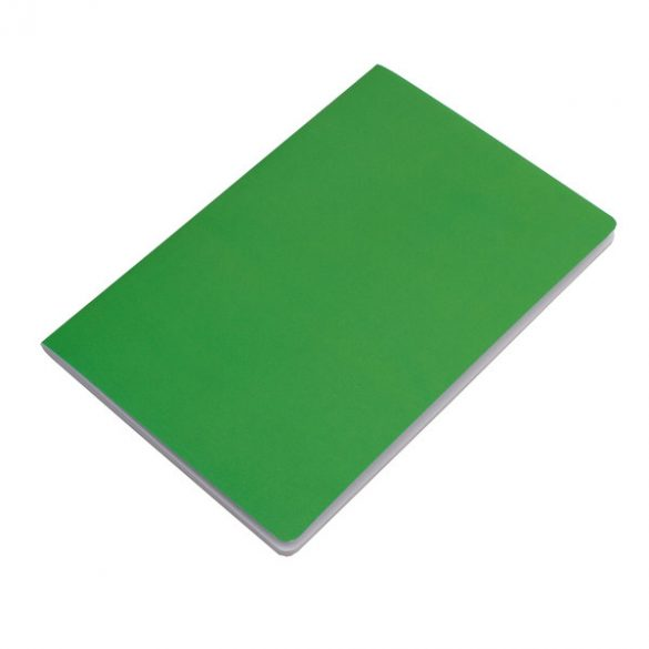 FUNDAMENTAL notebook with clean sides 140x210 / 160 pages,  green