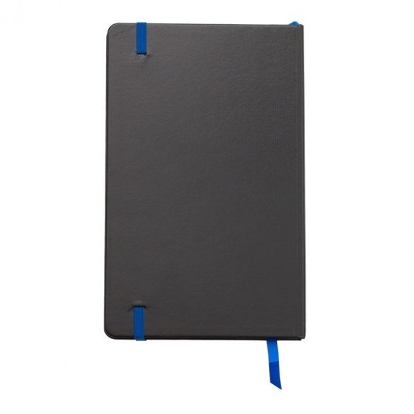 SEVILLA notebook with squared pages 130x210 / 160 pages,  blue/black