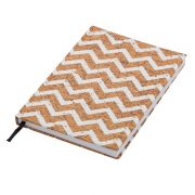 SALAMANCA notebook with squared pages 145x210 / 200 pages,  brown/white