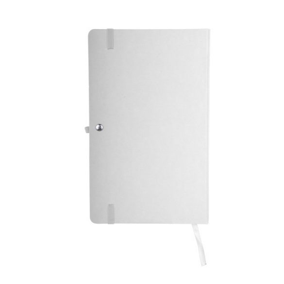 ZAMORA notebook with squared pages 90x140 / 160 pages,  white