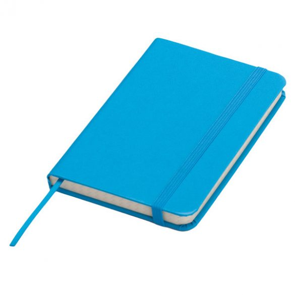 ZAMORA notebook with squared pages 90x140 / 160 pages,  light blue
