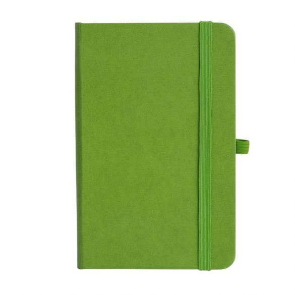 ASTURIAS notebook with squared pages 130x210 / 160 pages,  green