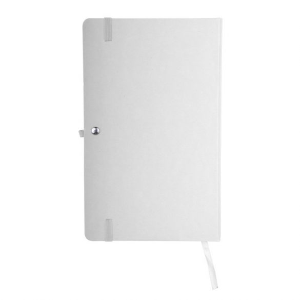ASTURIAS notebook with squared pages 130x210 / 160 pages,  white