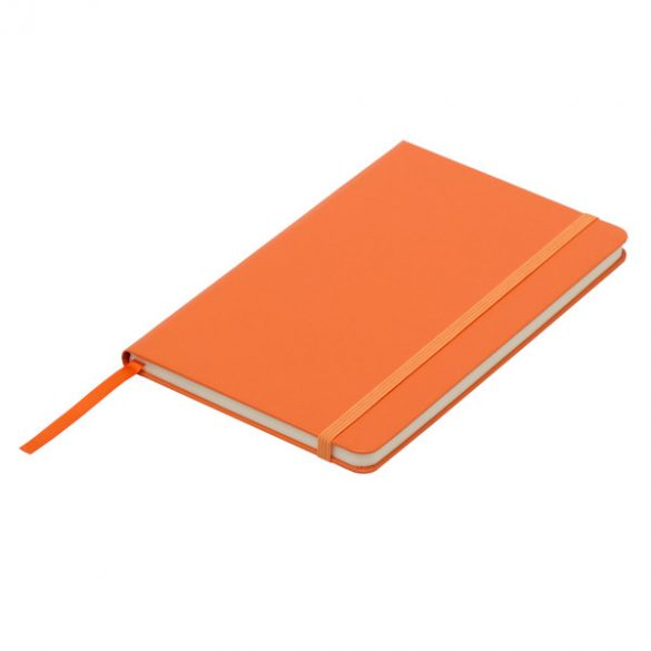 ASTURIAS notebook with squared pages 130x210 / 160 pages,  orange