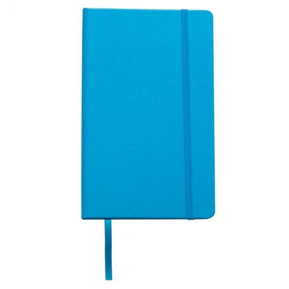 ASTURIAS notebook with squared pages 130x210 / 160 pages,  light blue