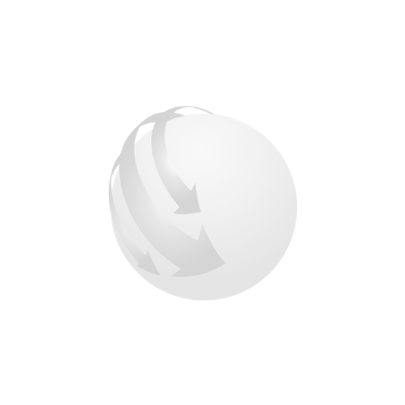 TUSKER stand with paper notes,  blue