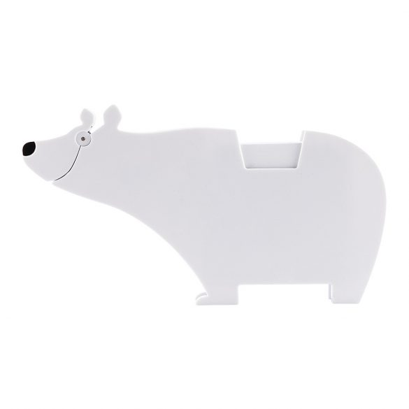 POLAR MEMO stand with paper notes,  white