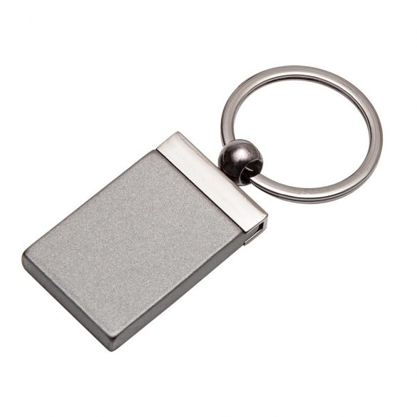 DINKY metal key ring,  graphite
