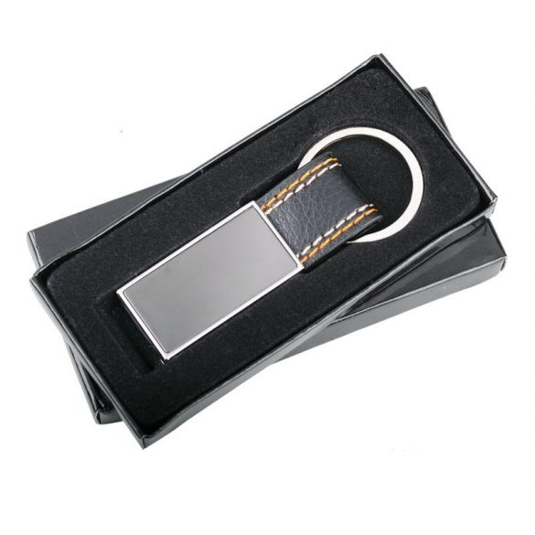 DENIM key ring,  silver