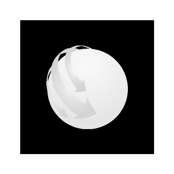 PLANE RING metal key ring,  silver