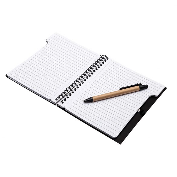 CURLY notebook,  black