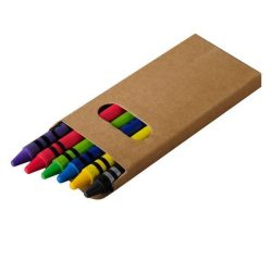 WAXIE set of wax crayons,  natural