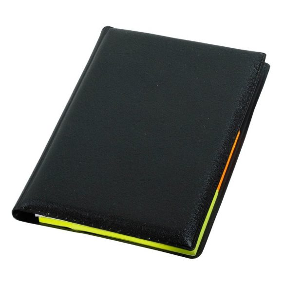 ENCHANT set of sticky notes and notebook,  black