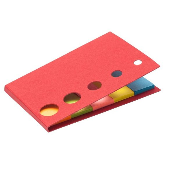 MEMO set of sticky notes,  red