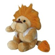 LEO plush toy,  brown