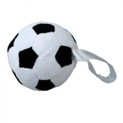 SOCCERBALL plush toy,  white/black
