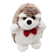 HEDGEHOG plush toy,  white/brown