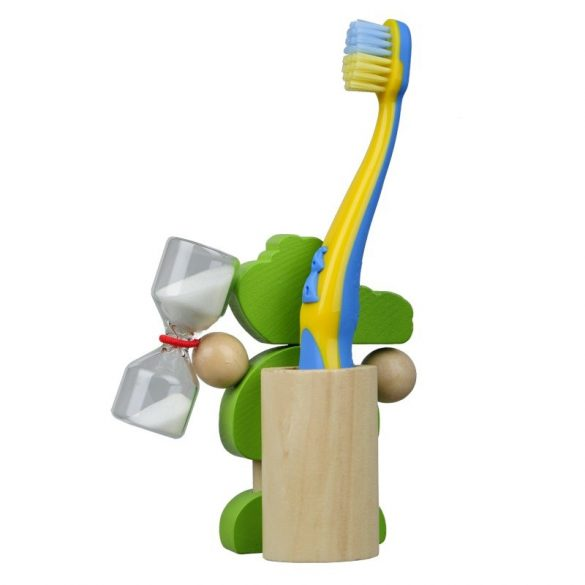CROCO toothbrush stand,  green