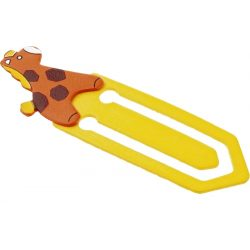 GIRAFFE BOOK bookmark,  yellow