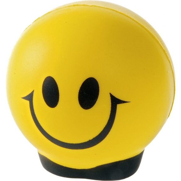 HAPPY antistress toy,  yellow/black