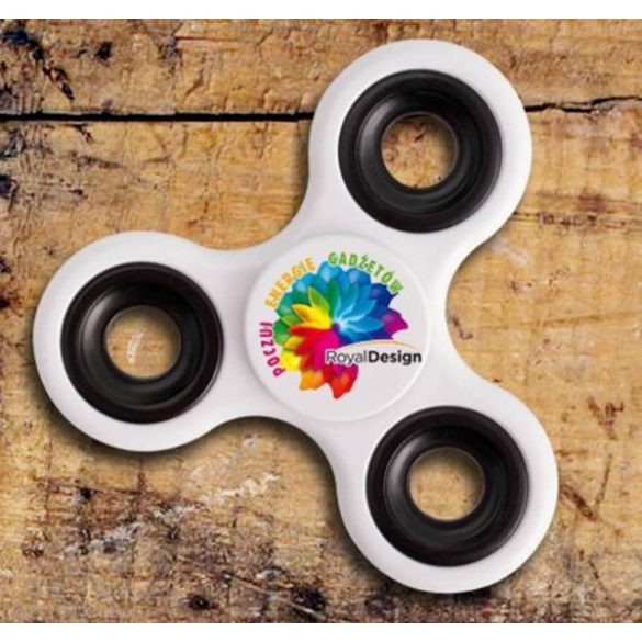 FIDGET spinner,  white