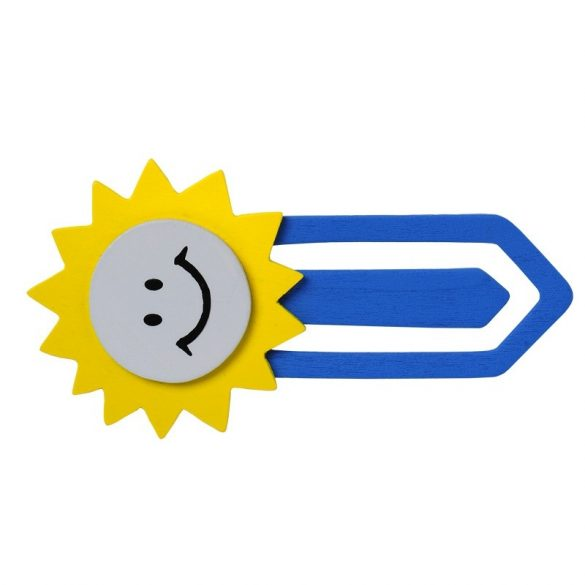 SUNSHINE bookmark,  blue/yellow