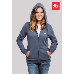 THC AMSTERDAM WOMEN. Women's hooded full zipped sweatshirt