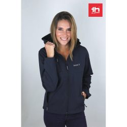 THC ZAGREB WOMEN. Women's softshell with removable hood