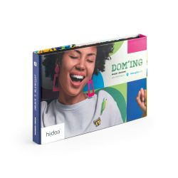 PIN & DOMING SHOWCASE. 2 in 1 Pins and Doming Showcase