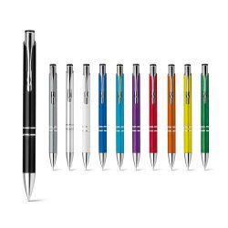 BETA PLASTIC. Ball pen with metal clip