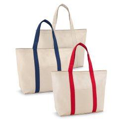 VILLE. 100% cotton canvas bag