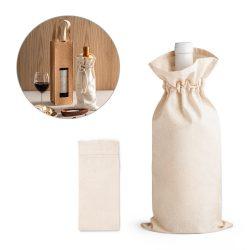 JEROME. 100% cotton bag for bottle