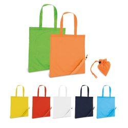 SHOPS. Foldable bag in 190T