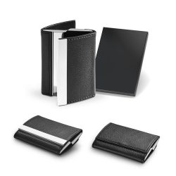 LONE. Double metal card holder