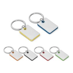 BECKET. Metal and ABS keyring