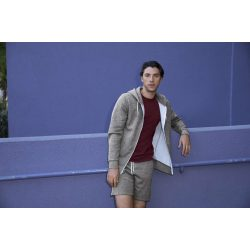 American Apparel AAMT497 Peppered Cranberry XS