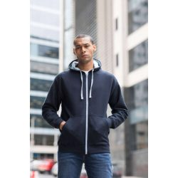Just Hoods AWJH053 Jet Black/Heather Grey S