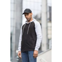 Just Hoods AWJH063 Charcoal Grey/Jet Black S