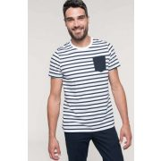 Kariban KA378 Striped White/Navy S