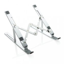 Foldable laptop stand, silver